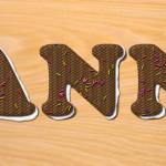 photoshopで作るポップなクッキーのテキストエフェクト