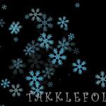 冬のフリー映像素材!雪の結晶の巻